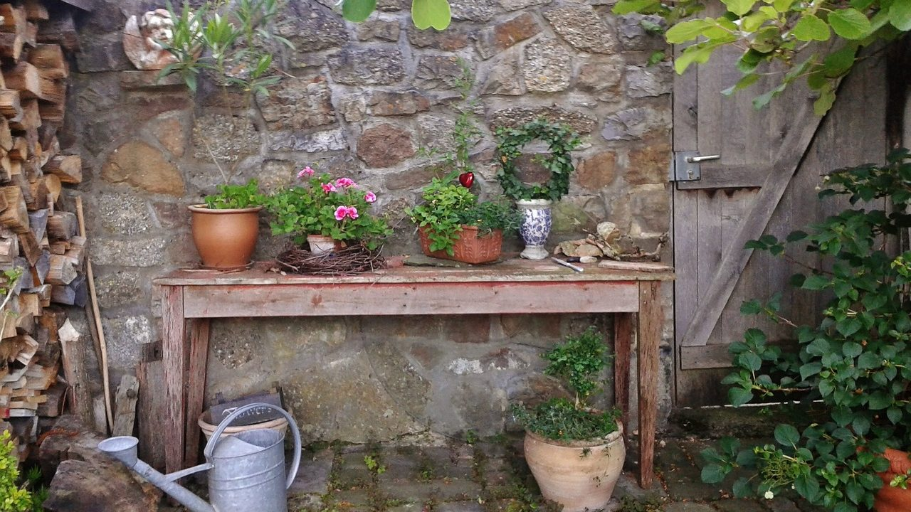 Jak zrobić stół ogrodowy