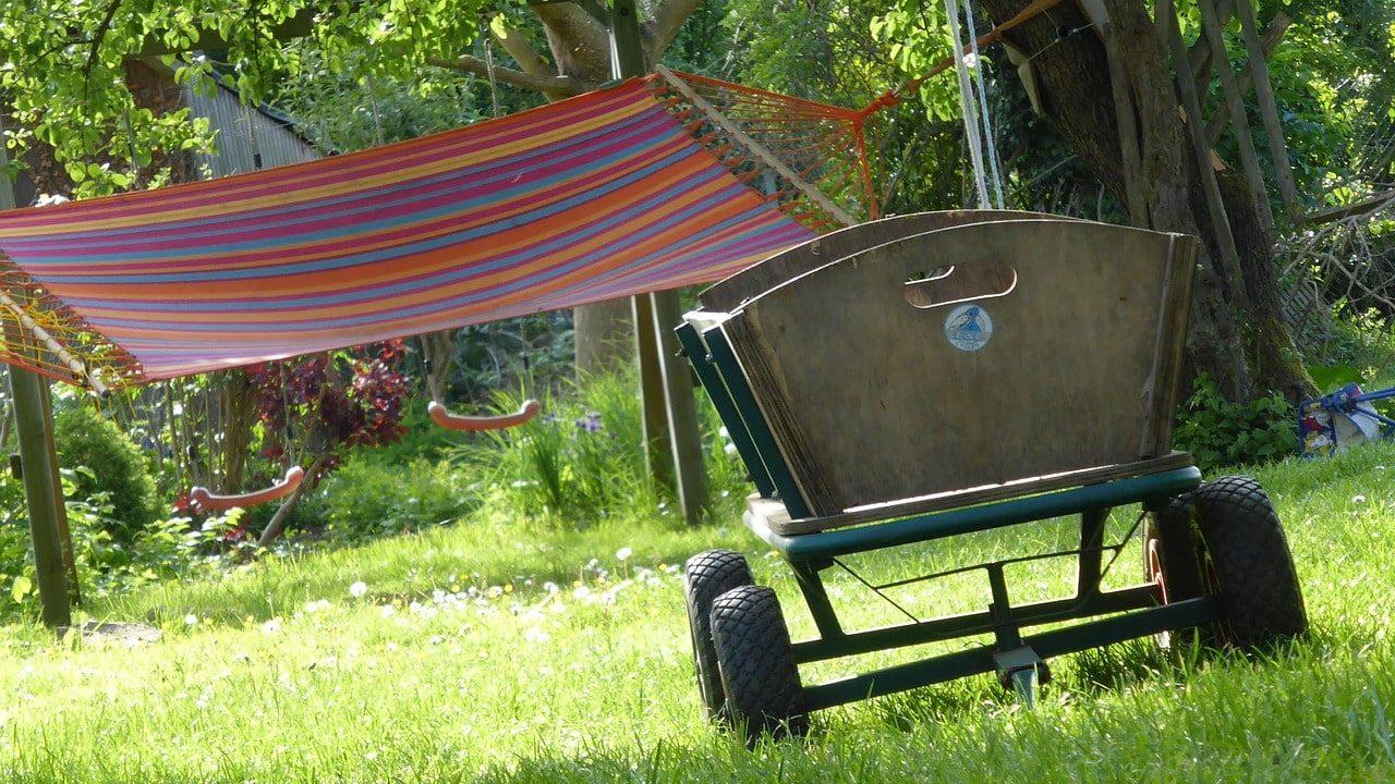 Jak zrobić wózek ogrodowy